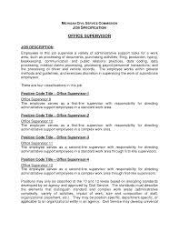 Job Description Template Medical Office Business Template