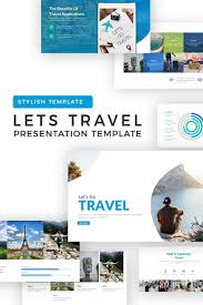 Powerpoint Presentation Templates For Business Lets Travel Powerpoint Template 71262 Presentation