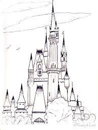 Castles 20 Castles Coloring Pages For
