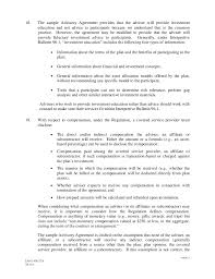Investment Agreement Templates Ria Service Agreement Template 408 B 2