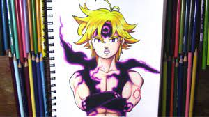 Ten years later, these holy warriors attempted a coup, were able to kill the king, and are now the new tyrannical rulers of england. Drawing Meliodas Demon Form Seven Deadly Sins Youtube