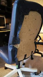 office chair reupholstery. Desk Chair Makeover | Confessions Of A Serial Do It Yourselfer Inside Reupholstering Office Chairs Reupholstery S