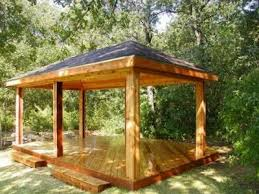 backyard gazebos this rectangular gazebo plans roof