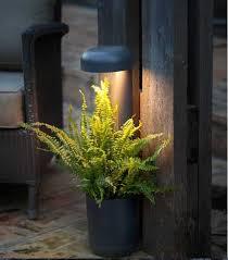 outside beacon with flower pot grow smd led 9w 3000k 720lm ip65 techluz iluminación profesional