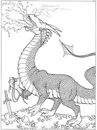 Fire Dragon Coloring Pages - GetColoringPages.com