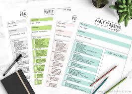 Party Planning Template Free Checklist Party Planning Checklist Free Printable Party Planner
