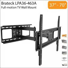 brateck lpa36 463a 37 70 inch full motion tv wall mount