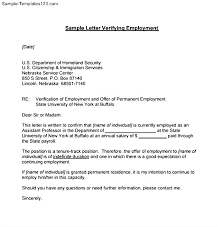 Letter Of Verification Of Employment Proof Of Employment Reference Letter Reference Letter Proof Of