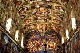 sistine chapel ceiling wallpaper home design ideas