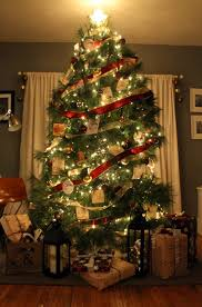 ... Delectable Look Of Red And Gold Christmas Tree Decorating Ideas :  Fascinating Decorating Ideas Using White ...