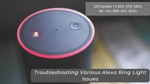Alexa Green Spinning Light Alexa Ring Light Issues Call 1 855 978 6855 Alexa Red