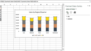 How To Change The Color Coding On A Microsoft Excel Graph Legend Microsoft Excel Tips