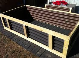 corrugated metal raised garden beds. Metal Corners For Raised Garden Beds Corrugated