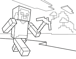 Printable Minecraft Coloring Pages Jeannettecliftgeorge Com