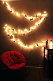 wall string lights bedroom amazing cute for how to hang full size of on .  wall string lights ...
