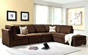 chocolate brown sofa living room ideas dark decorating large couch