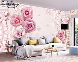 Pink Wallpaper Bedroom Popular Pink Roses Wallpaper Buy Cheap Pink Roses Wallpaper Lots