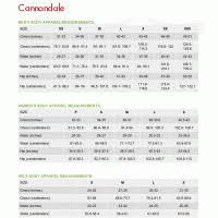 Cannondale Quick Bike Size Chart Cannondale Size Chart