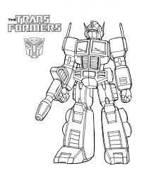 35 Transformer Coloring Pages Coloringstar