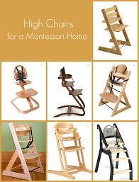 high chairs for a montessori home  how we montessori