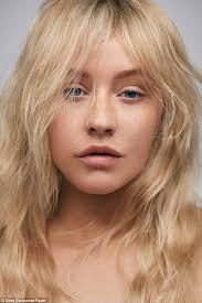 is that really you glam queen christina aguilera was unrecognizable for the cover of paper