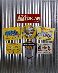Harley Davidson Signs Decor Decorating With HarleyDavidson Signs 10