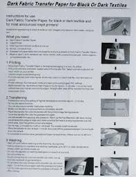 Jolee S Boutique Easy Image For Light Fabrics Instructions Dark T Shirt Iron On Inkjet Transfer Instructions Dreamworks