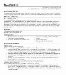 Junior Doctor Resume Pohlazeniduse