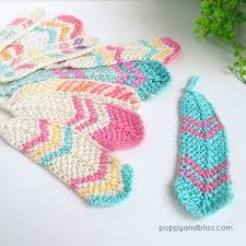 Crochet Feather Pattern