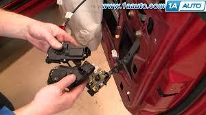 how to install replace power door lock actuator ford mustang 99 04 F150 Door Lock Diagram how to install replace power door lock actuator ford mustang 99 04 1aauto com 2000 f150 door lock diagram