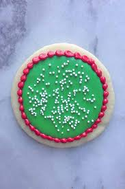 decorated round christmas sugar cookies.  Decorated Itu0027s The Key To Decorating Holiday Sugar Cookies Like And Decorated Round Christmas Sugar Cookies