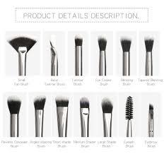 Eyelash Brush Makeup Brushes Set Professional 12 Pcs Lot Makeup Brushes