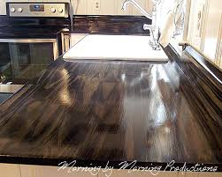 how to build a kitchen countertop morning by morning ions kitchen diy wood plank kitchen countertops