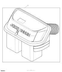 John deere parts diagrams john deere z425 eztrak mower w 48inch deck pc9594 attachment premium bagger material collection system