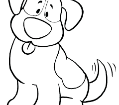 Dog Coloring Sheet Compassion21org