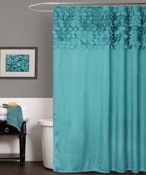 Turquoise Lillian Shower Curtain This Shows Color Pop With My