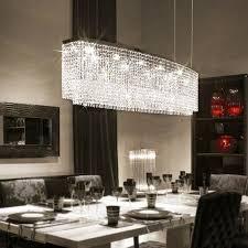 rectangular raindrop crystal pendant light sofary lighting ideal chandelier dining room amazing 6