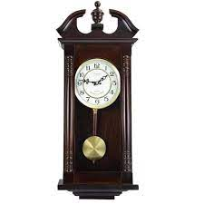 bedford clock collection cherry oak