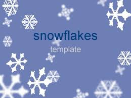 Snowflake Bullet Point Snowflakes Template