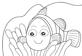 Small Picture Nemo Preschool Coloring Pages Fish Cartoon Coloring pages of
