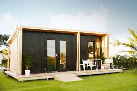 Small Picture viVood A Prefab Tiny House Powered By Solar Panels