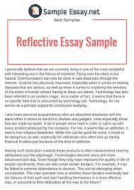reflective essay topics co reflective essay topics