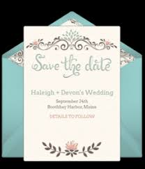 Save The Date For Wedding Free Wedding Save The Dates Online Punchbowl