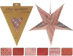 Papierstern Stern Rot Weiß ø 60 Cm Weihnachtsstern Faltstern Weihnachtsdeko