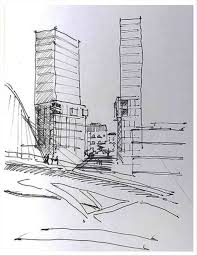 Simple architectural drawings Interior Exterior Design Twin Towers Famous Places Rhdragoartcom Learn Simple Skyscraper Sketch How To Draw The Twin Towers Famous Places Rhdragoartcom Architectural Drawings Of Pinterest Twin Towers Famous Places Rhdragoartcom Learn Simple Skyscraper