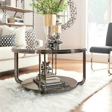 nickel coffee table black nickel plated modern round coffee table by inspire q bold hammered nickel nickel coffee table