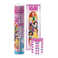 Disney Princess 1 6m Height Chart Marker Stickers