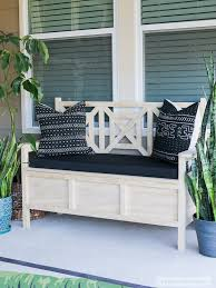 diy outdoor furniture couch. Interesting Diy Outdoor Storage Bench DIY Throughout Diy Furniture Couch H