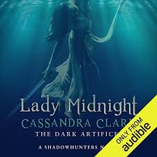 lady midnight a shadowhunter novel cover art