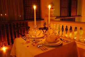 dinner for two table setting table romantic